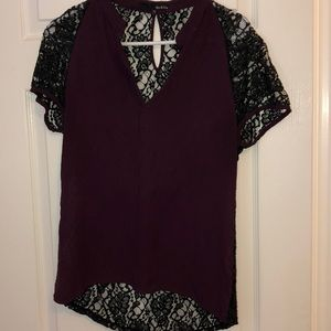 Gorgeous plum blouse-Perfect for work or going out